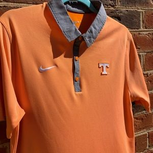 Nike Dri Fit Tennessee Volunteers Collared Polo
